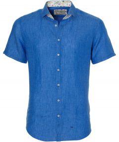 Hensen overhemd - slim fit - blauw