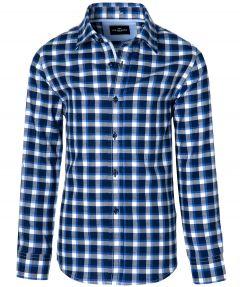Jac Hensen overhemd - kids - blauw