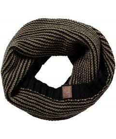 Barts col shawl - zwart