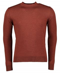 Nils pullover - slim fit - brique