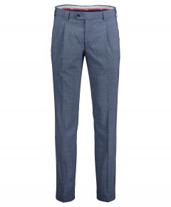 Meyer pantalon Milano - slim fit - blauw
