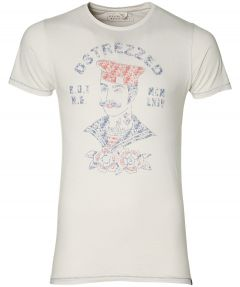 Dstrezzed t-shirt - slim fit - ecru