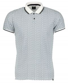 Dstrezzed polo - slim fit - wit