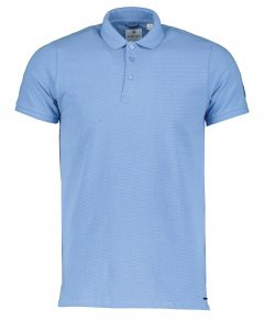 Dstrezzed Polo - Slim Fit - Blauw