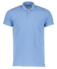 Dstrezzed Polo - Slim Fit - Blauw
