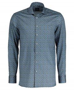 Jac Hensen overhemd - extra lang - groen