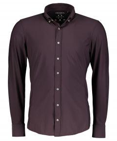 Hensen overhemd - body fit - bordreaux