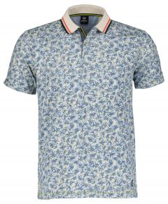 Lerros polo - regular fit - blauw