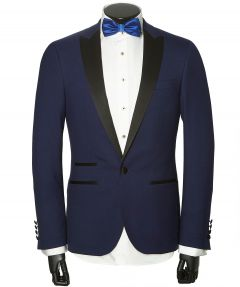Nils smoking - slim fit - blauw
