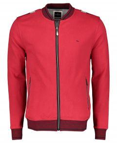 Jac Hensen vest - modern fit - rood
