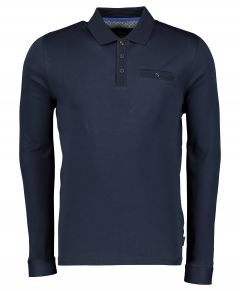 Ted Baker polo - slim fit - blauw