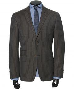Jac Hensen kostuum - modern fit - bruin