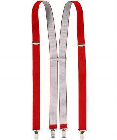 Henri Roseau Bretels - rood