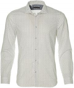 sale - Manuel Ritz overhemd - slim fit - wit