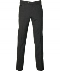 Meyer pantalon Chicago - modern fit - antra