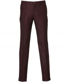sale - Nils pantalon - slim fit - bordo