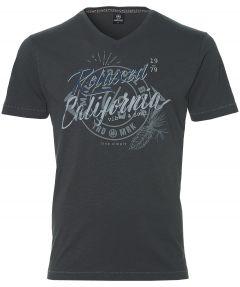 Lerros t-shirt - modern fit - grijs