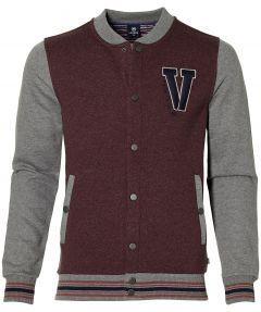 Lerros vest - modern fit - rood