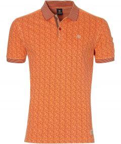 Lerros polo - modern fit - oranje