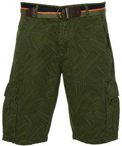 Lerros short - modern fit - groen