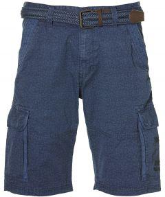 Lerros short - regular fit - blauw
