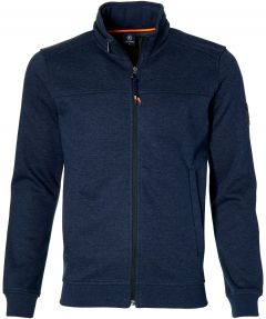 Lerros vest - regular fit - blauw
