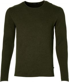 Matinique pullover - slim fit - groen