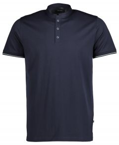 Matinique polo  - slim fit - blauw
