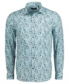 Matinique overhemd - slim fit - groen
