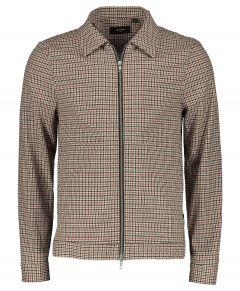 Matinique overshirt - slim fit - bruin
