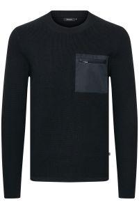 Matinique pullover - slim fit - blauw