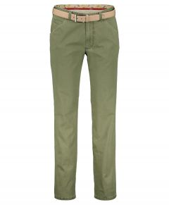 Meyer chino Chicago - modern fit - groen