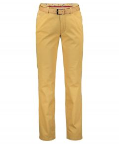Meyer chino Chicago - modern fit - geel