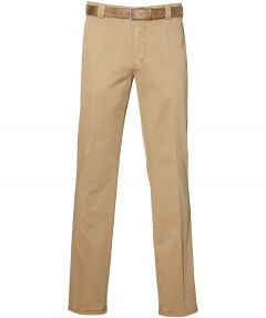 Meyer pantalon roma - regular fit - beige