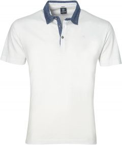 Lerros polo - modern fit - wit