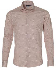 Gentiluomo overhemd - slim fit - rood