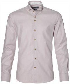 Gentiluomo overhemd - slim fit - roze