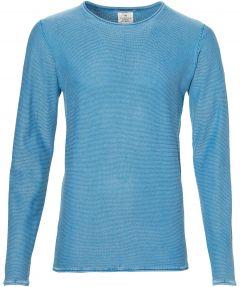 sale - Dstrezzed pullover - slim fit - blauw