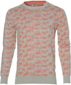 Dstrezzed pullover - slim fit - grijs