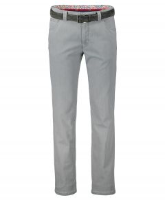 Meyer chino Dublin - modern fit - grijs