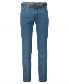 Meyer chino Dublin - modern fit - blauw