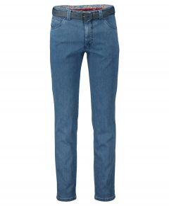 Meyer chino Dublin - modern fit - blauw