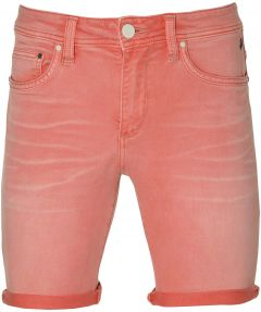sale - Lion short - slim fit - rood