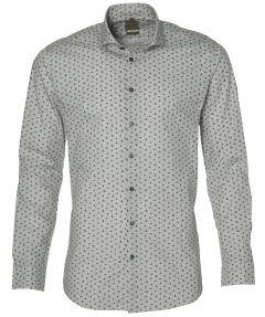 Benvenuto overhemd - modern fit - grijs