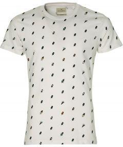 Hensen t-shirt - slim fit - wit