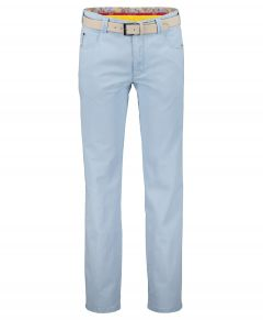 Meyer chino Diego - modern fit - blauw