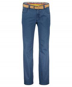 Meyer chino Diego - modern fit - blauw