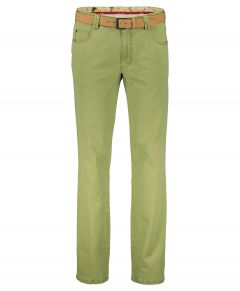 Meyer chino Diego - modern fit - groen