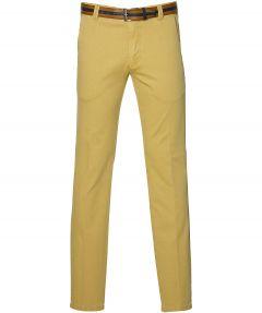 Meyer pantalon Bonn - modern fit - geel