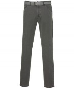 Meyer pantalon Chicago - modern fit - grijs